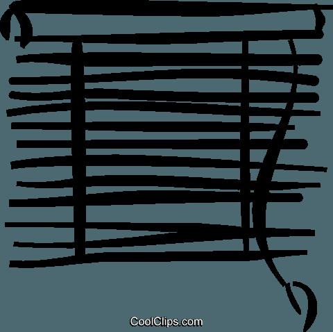 窗 免版税矢量剪贴画插图