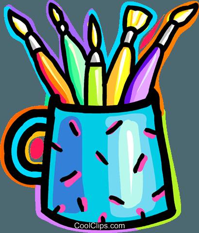 Farbe und Pinsel Vektor Clipart Bild -vc037552-CoolCLIPS.com