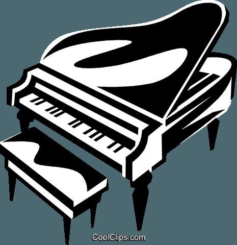 grand piano royalty free vector clip art illustration vc038176