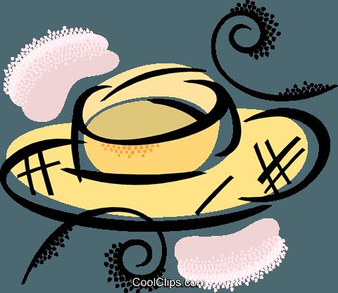 00aee6ef50ade Chapéu de palha livre de direitos Vetores Clip Art ilustração ...