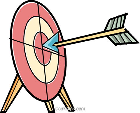 archery Royalty Free Vector Clip Art illustration vc038587