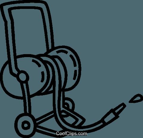 Garden Hose Royalty Free Vector Clip Art Illustration Vc038795