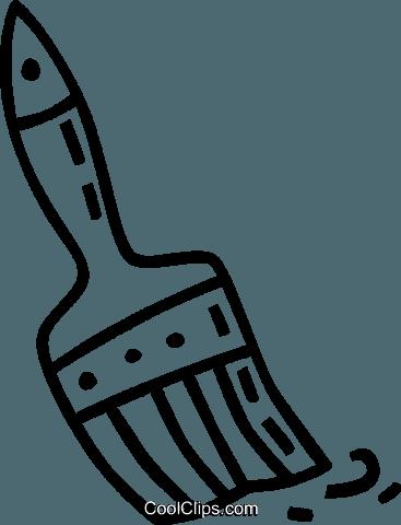 Pinsel clipart schwarz weiß  Pinsel Vektor Clipart Bild -vc038808-CoolCLIPS.com
