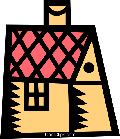 house/home Royalty Free Vector Clip Art illustration vc039301