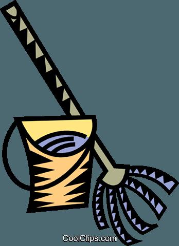 桶 免版税矢量剪贴画插图