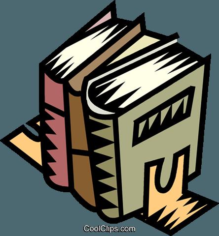 书籍 免版税矢量剪贴画插图