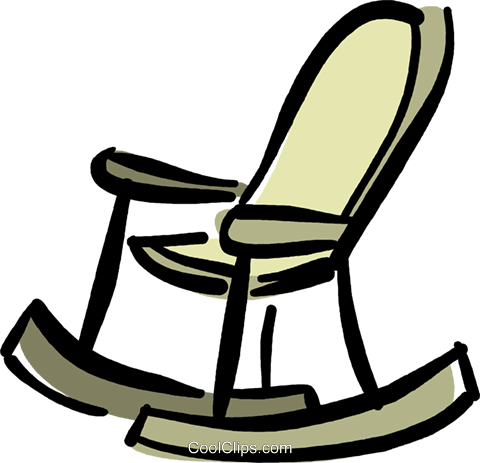 rocking chair royalty free vector clip art illustration vc040359. Black Bedroom Furniture Sets. Home Design Ideas