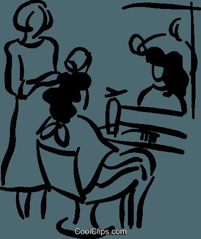 Friseur Und Kunde