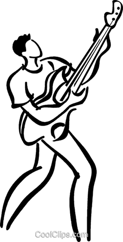 Guitar Player Vecteurs de stock et clip-Art vectoriel vc040840