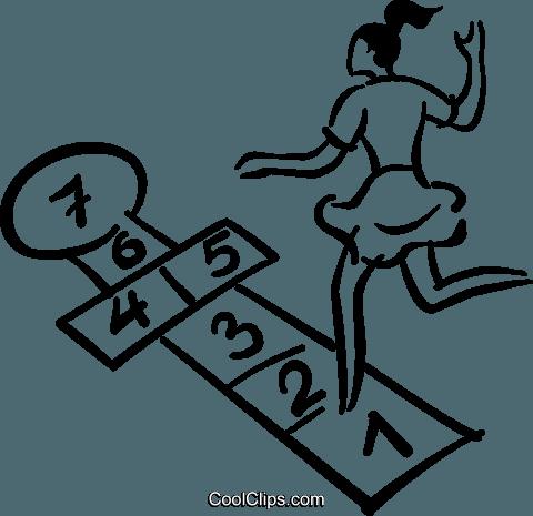 Hopscotch Clipart