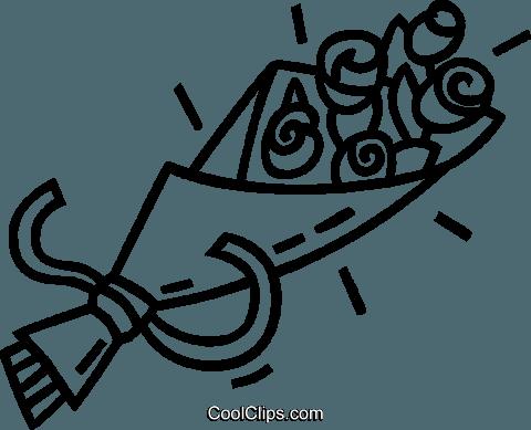 Mazzo Di Fiori Vettoriale.Mazzo Di Fiori Immagini Grafiche Vettoriali Clipart Vc040900