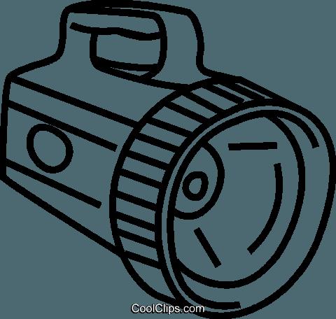 Taschenlampe clipart  Taschenlampe Vektor Clipart Bild -vc041647-CoolCLIPS.com