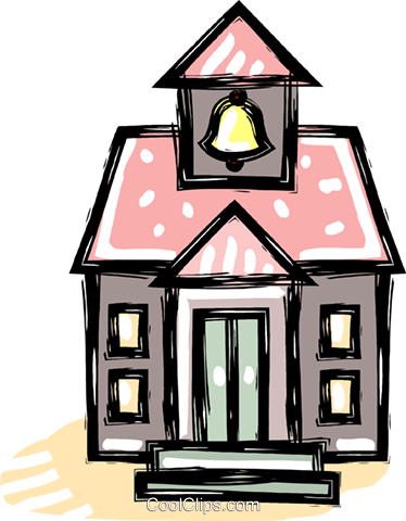 church Royalty Free Vector Clip Art illustration vc041722