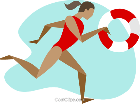 lifeguard Royalty Free Vector Clip Art illustration ...