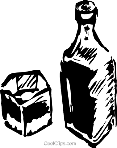 liquor Royalty Free Vector Clip Art illustration vc044295