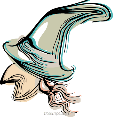 Witch Royalty Free Vector Clip Art illustration vc044374