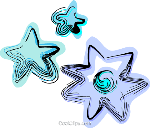 Stars Royalty Free Vector Clip Art illustration vc044392
