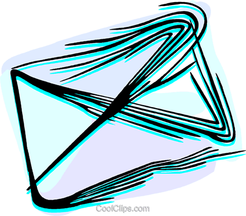 Letter Royalty Free Vector Clip Art illustration vc044471