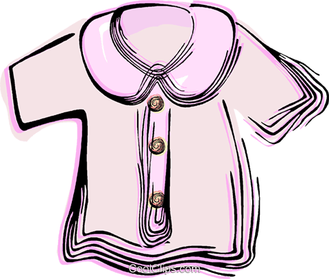 Dress coat Royalty Free Vector Clip Art illustration vc044519