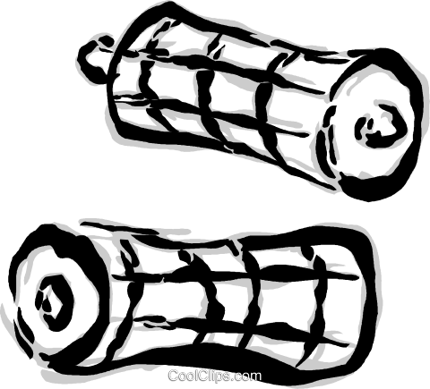 batteries Royalty Free Vector Clip Art illustration vc044705