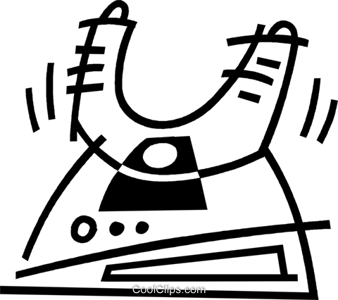 antenna Royalty Free Vector Clip Art illustration vc044895