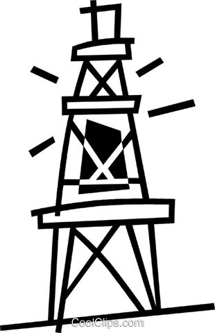 communication tower Royalty Free Vector Clip Art illustration vc044932
