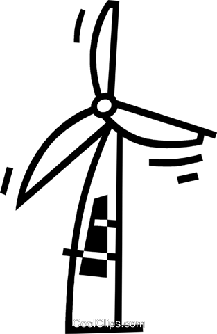 windmill Royalty Free Vector Clip Art illustration vc044981