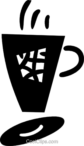 Cup of joe Royalty Free Vector Clip Art illustration vc045018
