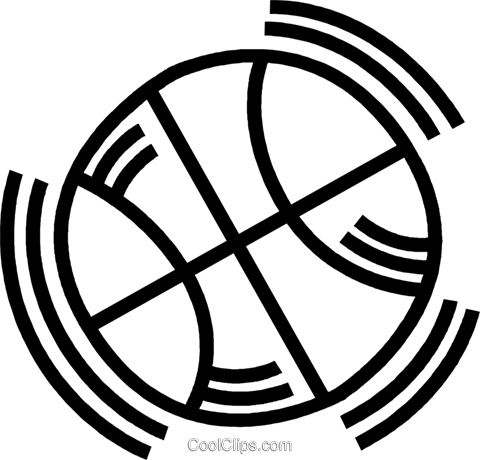 basketball Royalty Free Vector Clip Art illustration vc045097