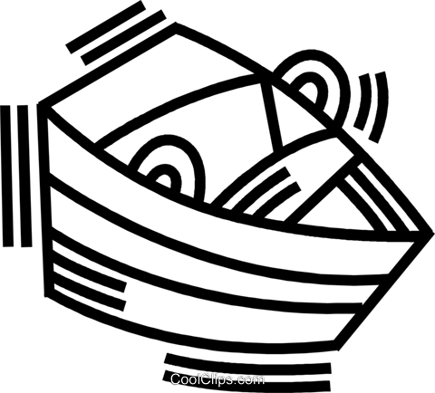 rowboat Royalty Free Vector Clip Art illustration vc045099