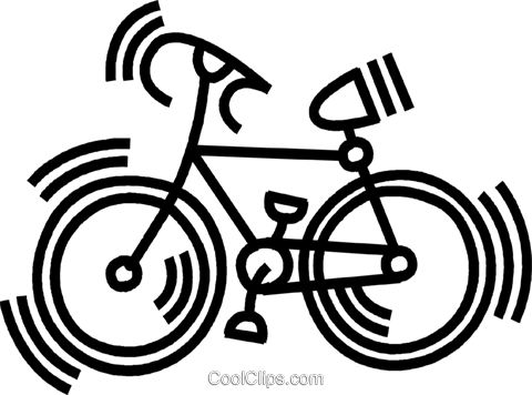 bicycle Royalty Free Vector Clip Art illustration vc045103