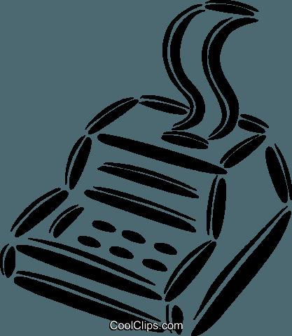 Cash Register Royalty Free Vector Clip Art Illustration Vc042500