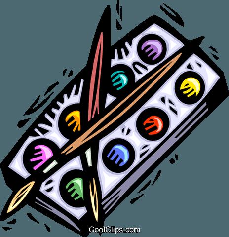 Farbe und Pinsel Vektor Clipart Bild -vc042868-CoolCLIPS.com