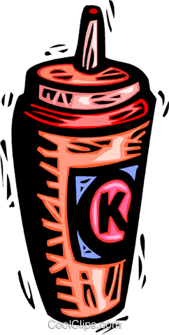 ketchup bottle Royalty Free Vector Clip Art illustration vc042892