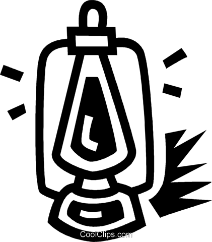 oil lantern Royalty Free Vector Clip Art illustration vc043444