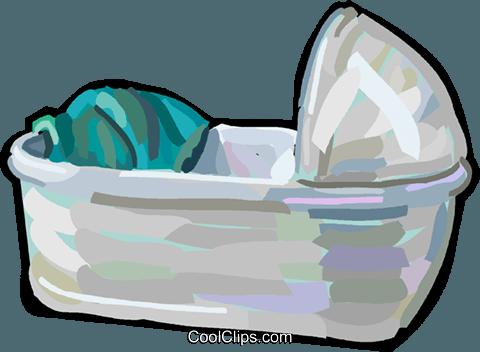 Kinderbett Vektor Clipart Bild Vc048291 Coolclips Com