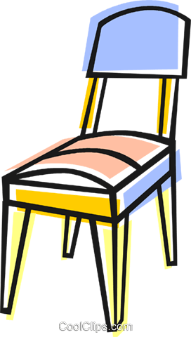 chair Royalty Free Vector Clip Art illustration vc048396