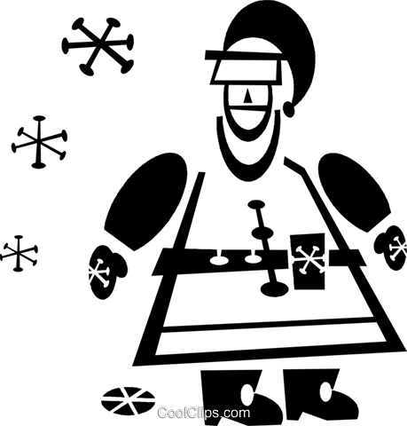Santa Royalty Free Vector Clip Art illustration vc043299