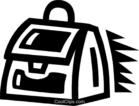briefcase Royalty Free Vector Clip Art illustration vc043372