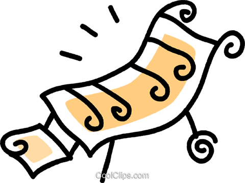 beach chair Royalty Free Vector Clip Art illustration vc043750