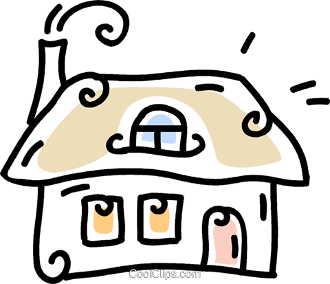 house Royalty Free Vector Clip Art illustration vc043802