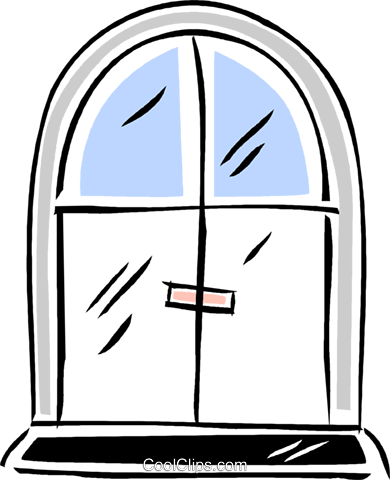 door Royalty Free Vector Clip Art illustration vc043820