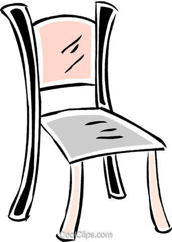 chair Royalty Free Vector Clip Art illustration vc043841