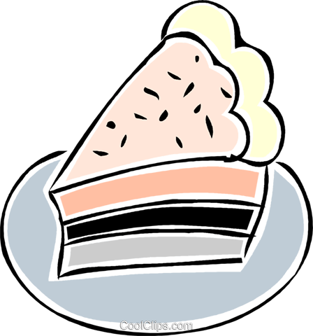 piece of pie Royalty Free Vector Clip Art illustration vc043854