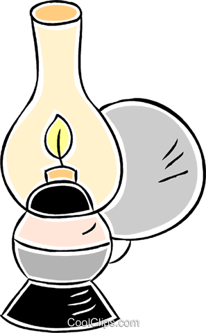 oil lantern Royalty Free Vector Clip Art illustration vc043865
