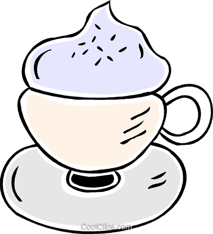 special coffee Royalty Free Vector Clip Art illustration vc043869