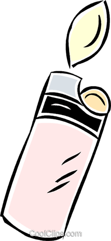 lighter Royalty Free Vector Clip Art illustration vc043876
