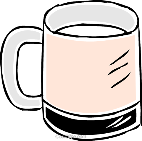coffee cup Royalty Free Vector Clip Art illustration vc043877