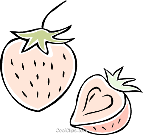 strawberry Royalty Free Vector Clip Art illustration vc043897