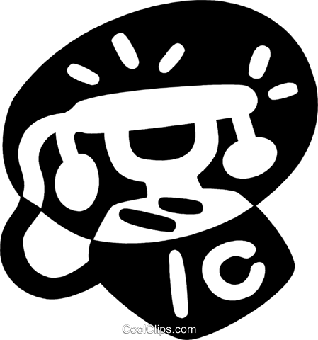 antique telephone Royalty Free Vector Clip Art illustration vc043959